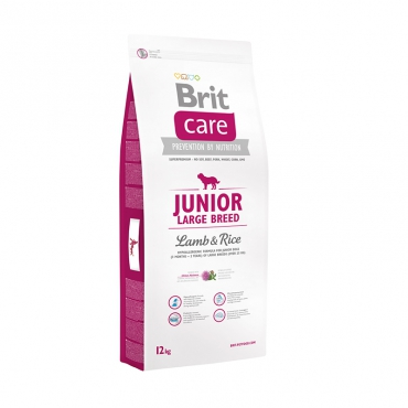 Brit Care Junior Large Breed Lamb & Rice для молодых собак